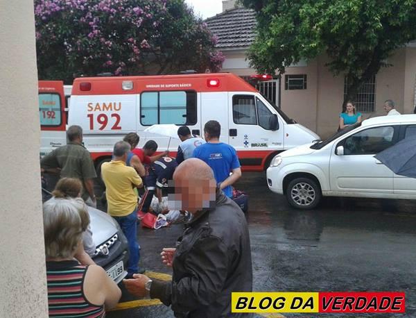 Acidente na Rua Getúlio Vaz