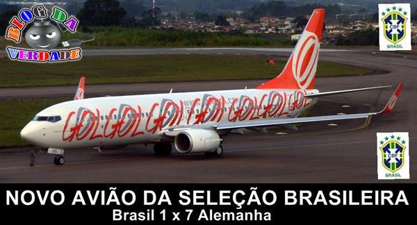 Avião da seleção brasileira 1