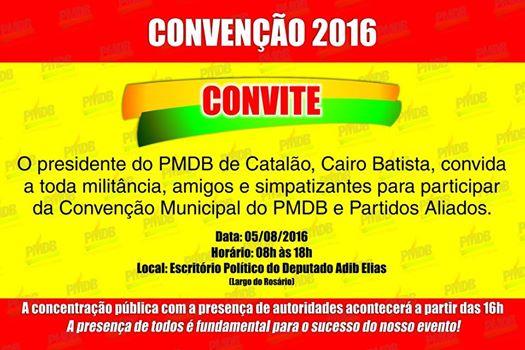 Convenção PMDB