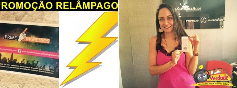 Ganhadora da Promoção Credencial Expo catalão