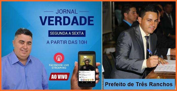 Jornal Verdade Entrevista Prefeito de Três Ranchos