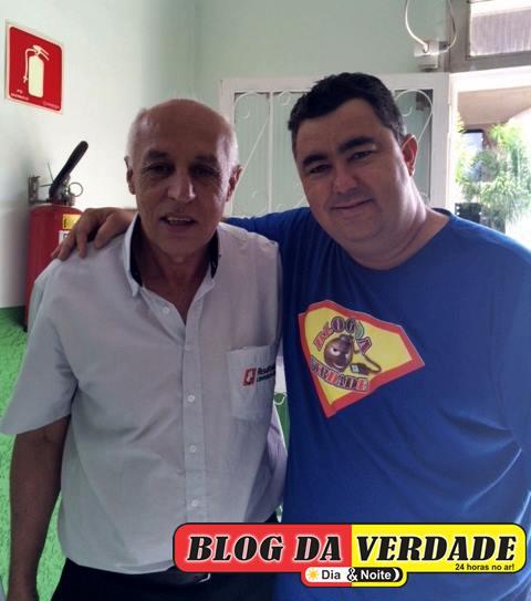 Luiz Cláudio com seu osmar