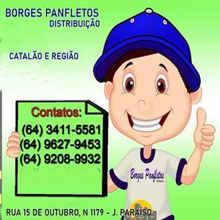 BORGES PANFLETAGENS CATALÃO
