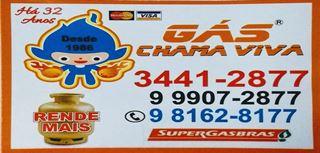 Chama viva gas